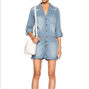 CURRENT/ELLIOTT Mechanic Shortall Romper